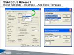 webfocus release 7 excel template example add excel template1