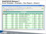 webfocus release 7 excel template example run report sheet 2