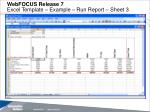 webfocus release 7 excel template example run report sheet 3