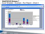 webfocus release 7 excel template example run report sheet 4