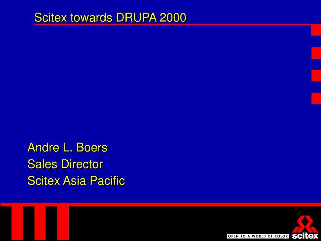 Scitex towards DRUPA 2000