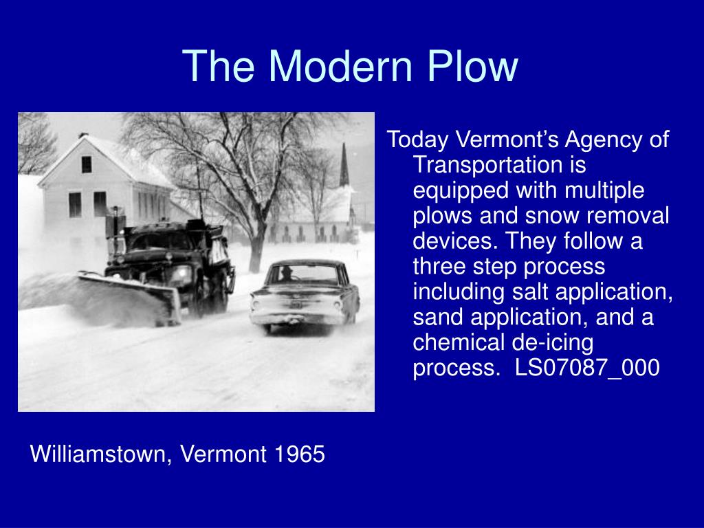 The Modern Plow