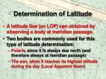 determination of latitude3