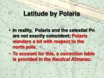 latitude by polaris10