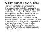 william morton payne 1913