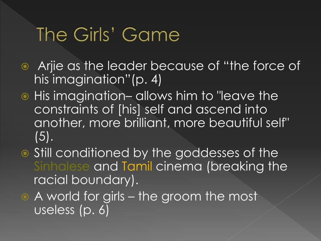 The Girls' Game