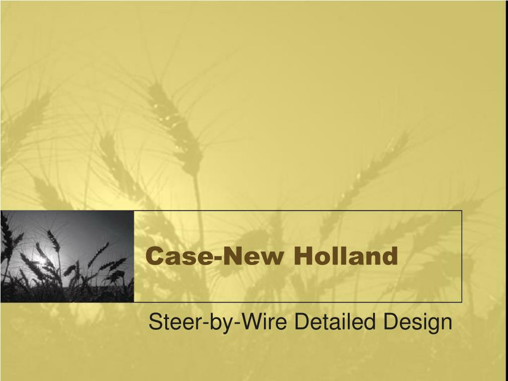 case new holland l.