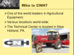 who is cnh