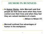 humor in business