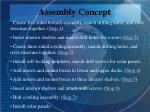 assembly concept