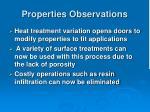 properties observations15