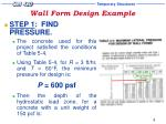 wall form design example10