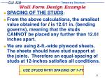 wall form design example18
