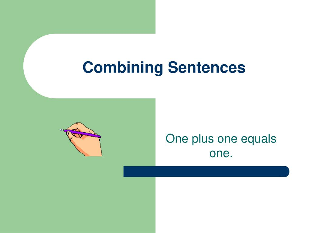 combining sentences l.