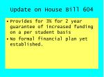 update on house bill 6047
