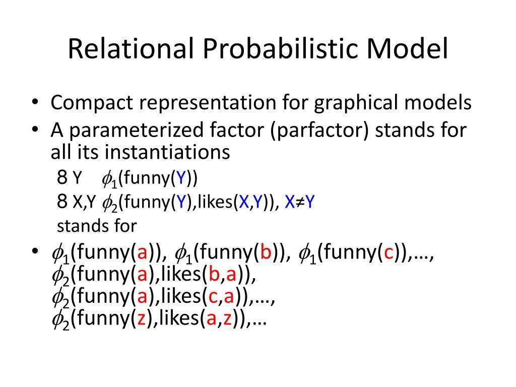 Relational Probabilistic Model