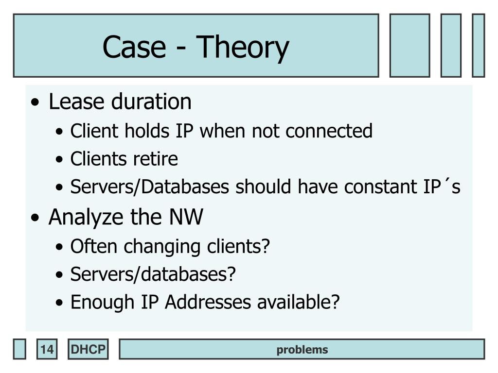 Case - Theory