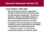second viennese school 2