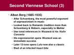 second viennese school 3