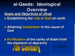 al qaeda ideological overview7