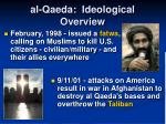 al qaeda ideological overview8