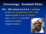 chronology snowball effect13