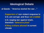 ideological debate21