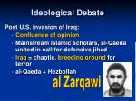 ideological debate23