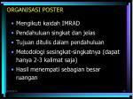 organisasi poster