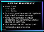 slide dan transparansi1