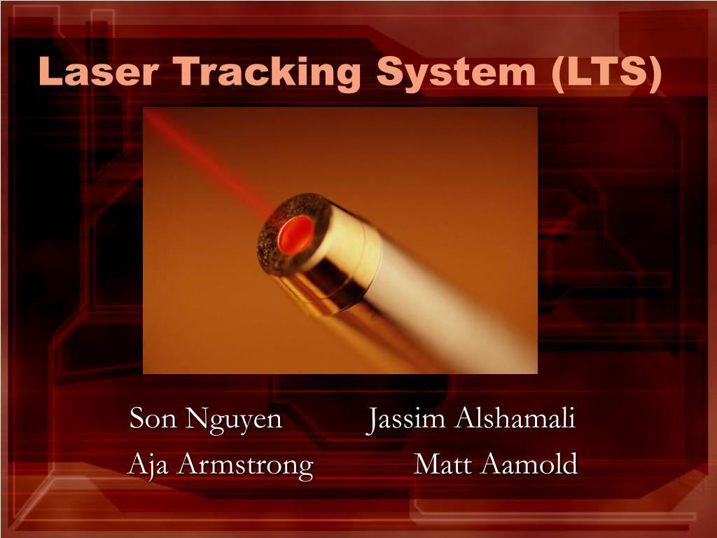 laser tracking system lts l.