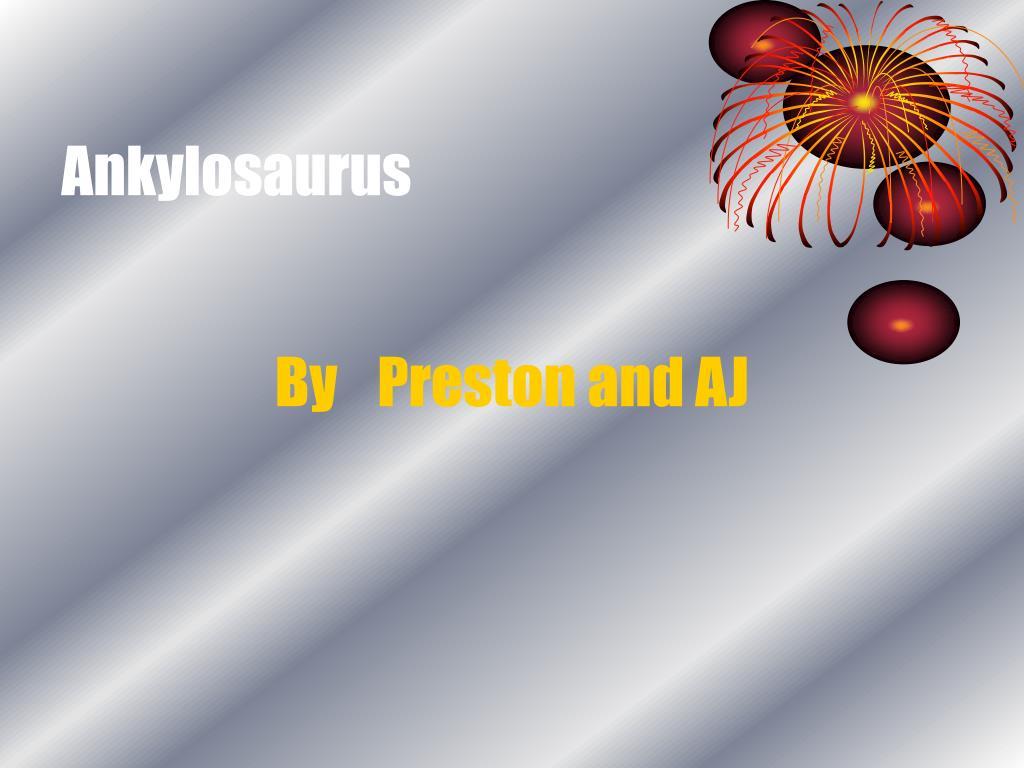 ankylosaurus l.