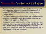 brawny man contest took the reggie