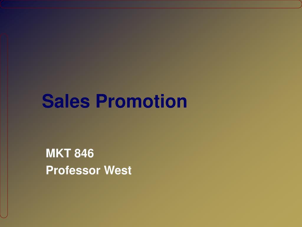 sales promotion l.