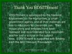 thank you edsitement