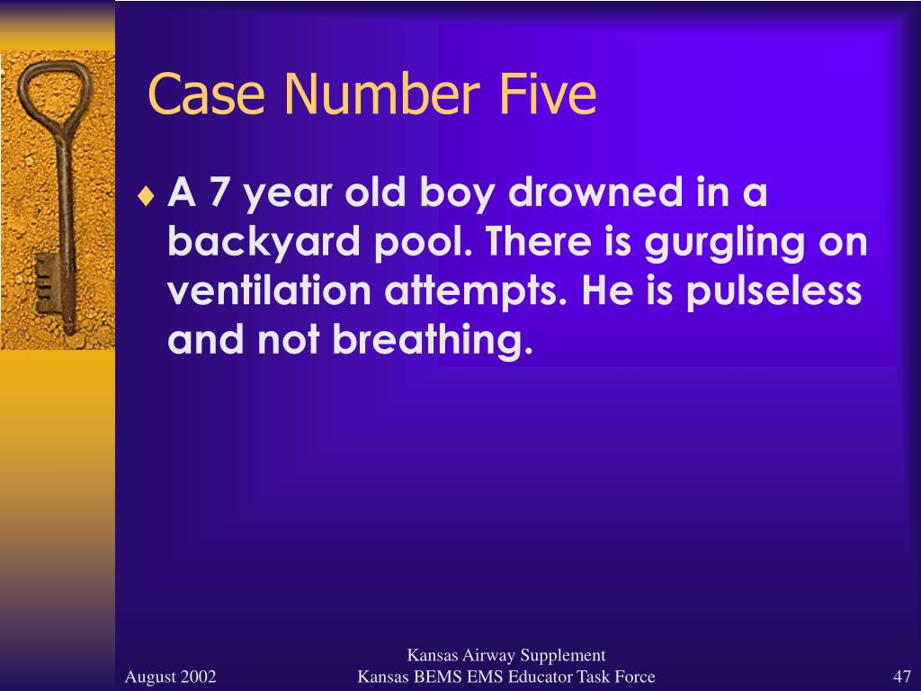 Case Number Five