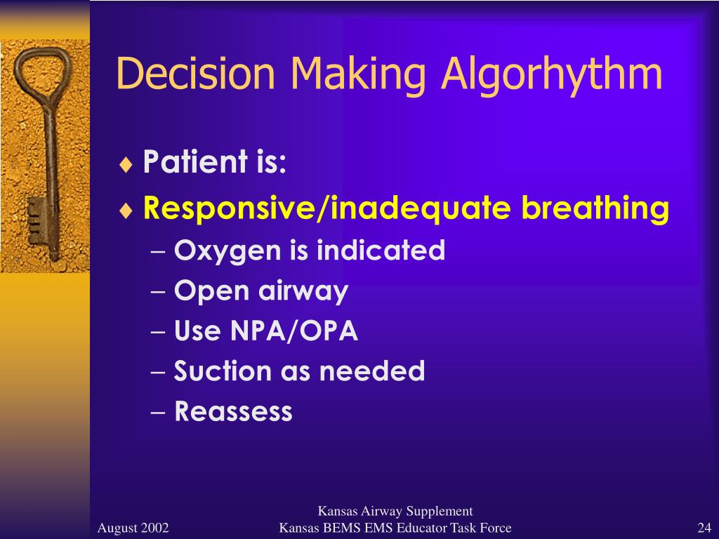 Decision Making Algorhythm