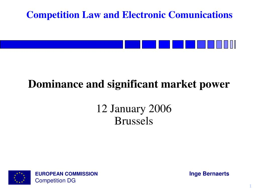 competition law and electronic comunications l.
