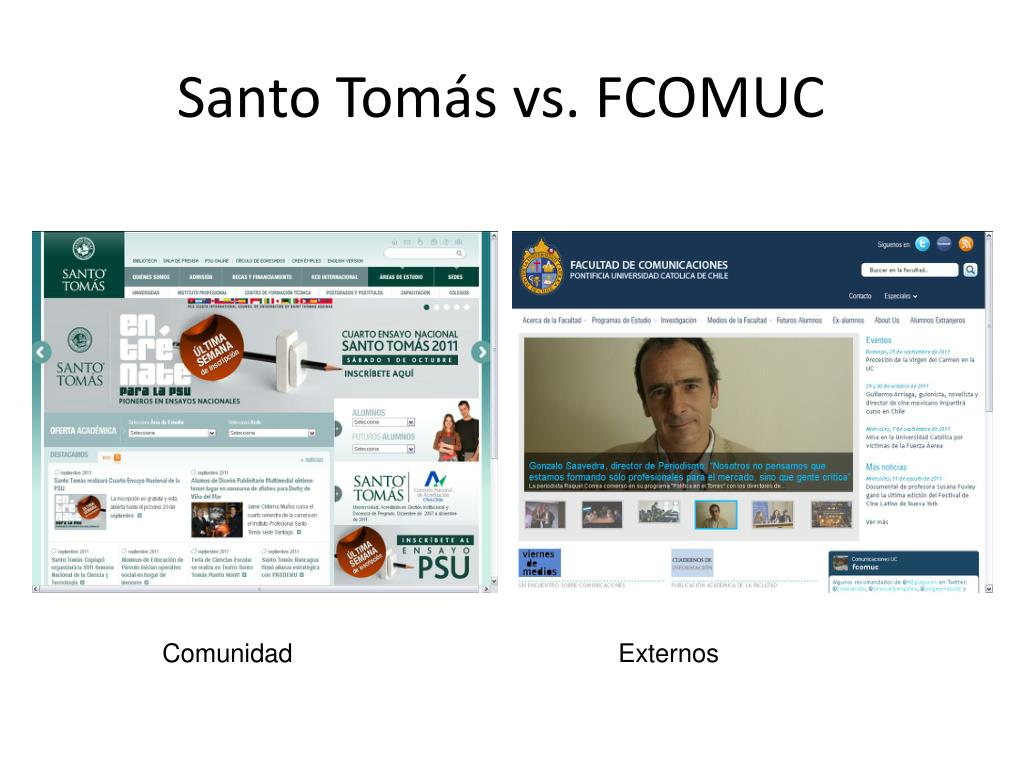 Santo Tomás vs. FCOMUC