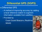 differential gps dgps