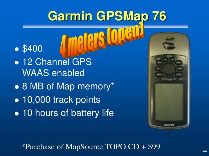 PPT - GPS - The Big Picture PowerPoint Presentation - ID:165063