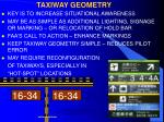 taxiway geometry
