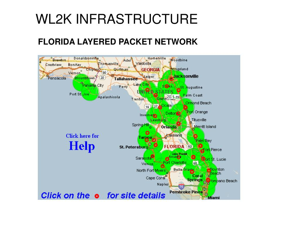 FLORIDA LAYERED PACKET NETWORK