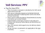 vod services ppv