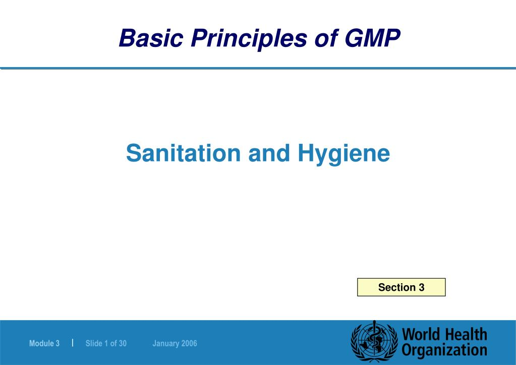 PPT - Sanitation and Hygiene PowerPoint Presentation - ID:165103