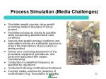 process simulation media challenges