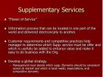supplementary services13