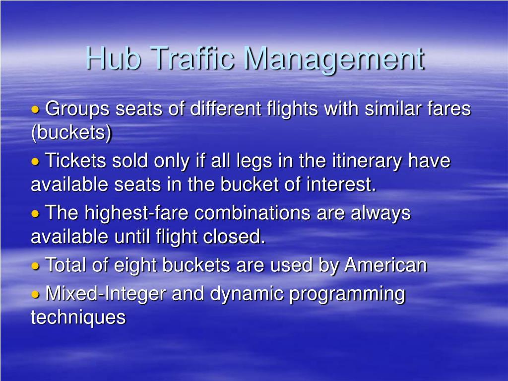 Hub Traffic Management