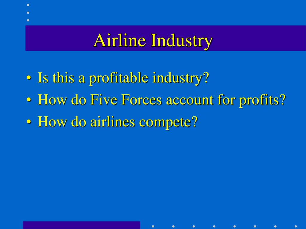 airline industry l.