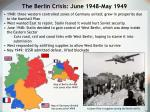 the berlin crisis june 1948 may 1949